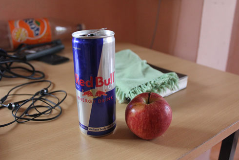 RedBull and Apple