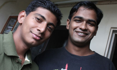 Me and Sumit