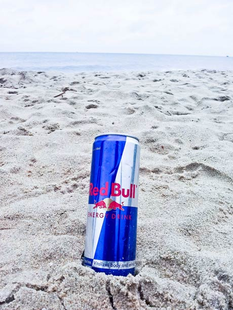 Red Bull on the Beach