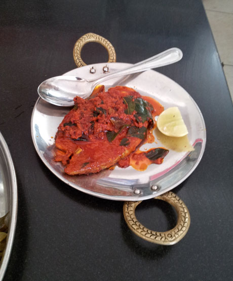 Fish Masala Fry. Yum!